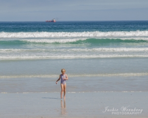 Child-on-beach
