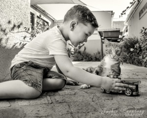 boy-with-toy-truck-and-cat-1