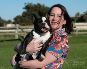 woman-with-smiling-French-Bulldog-1