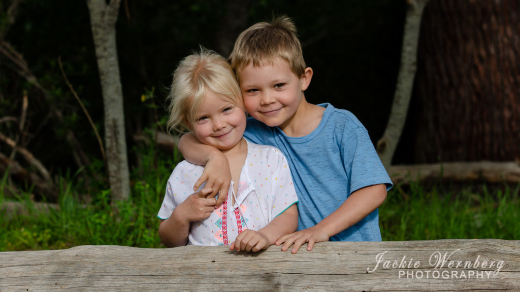 Brother and sister children
